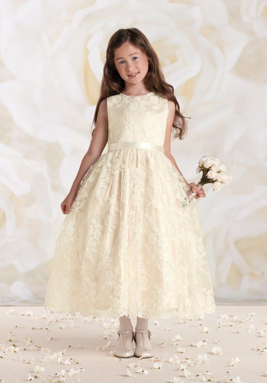 Joan Calabrese by Mon Cheri 115316 Flower Girl Dress photo