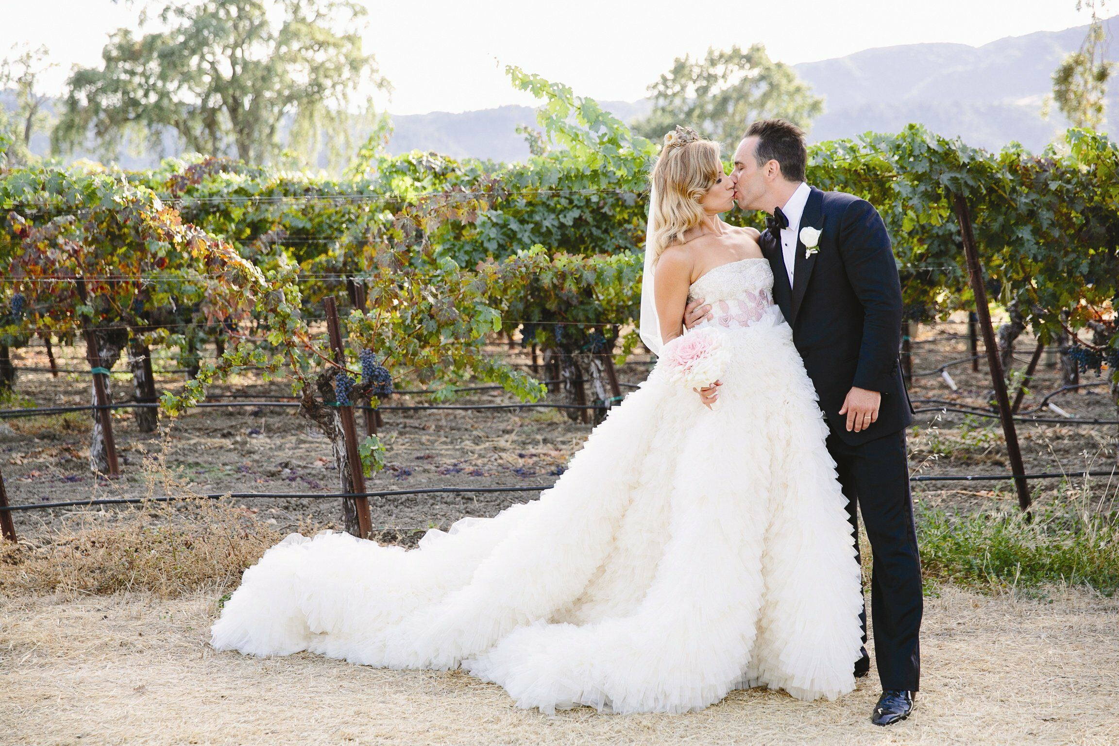 a private estate wedding in napa valley california
