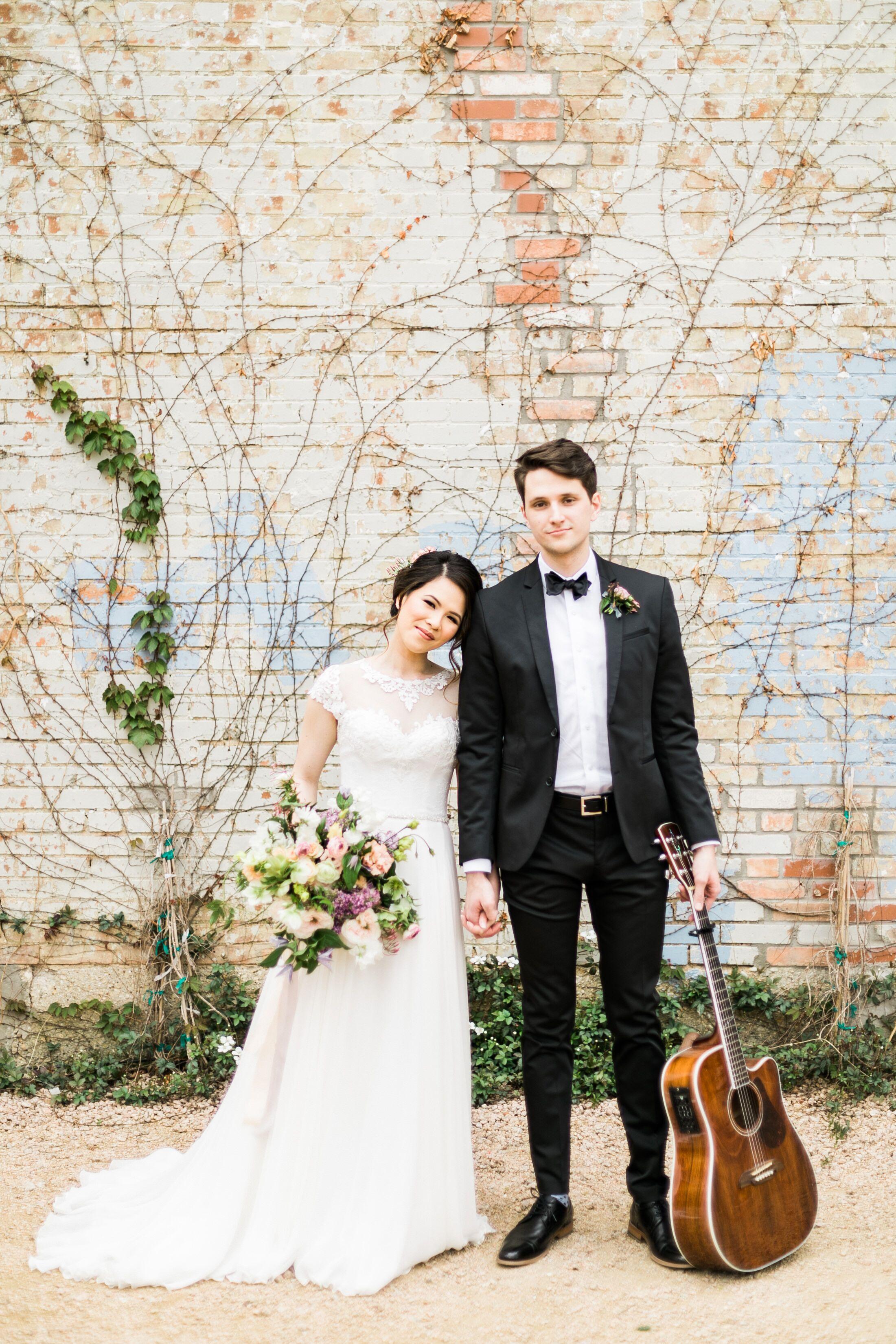 An Elegant Industrial Wedding At Brik Venue In Fort Worth Texas