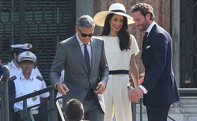 George Clooney, Amal Alamuddin Married In a Civil Ceremony ...