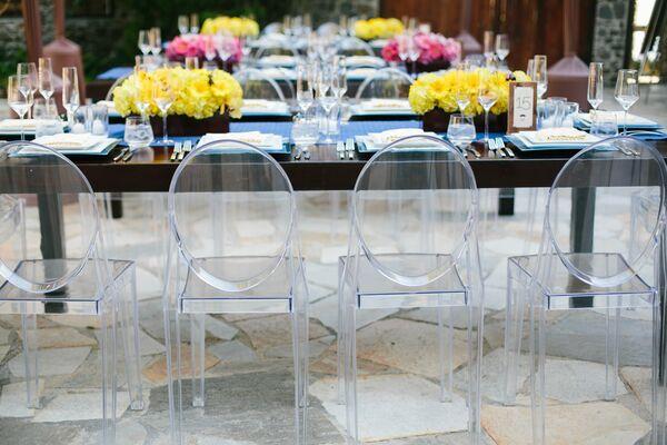 Yellow Wedding Reception