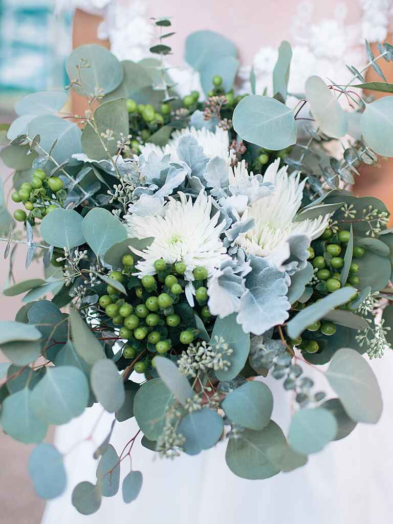 The Prettiest Greenery Bouquets We've Ever Seen