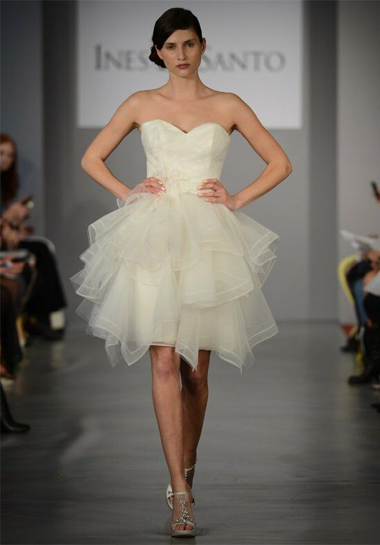 Ines Di Santo Usse Wedding Dress photo