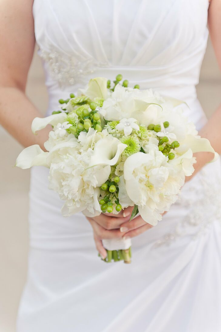Peony and Calla Lily Bouquet