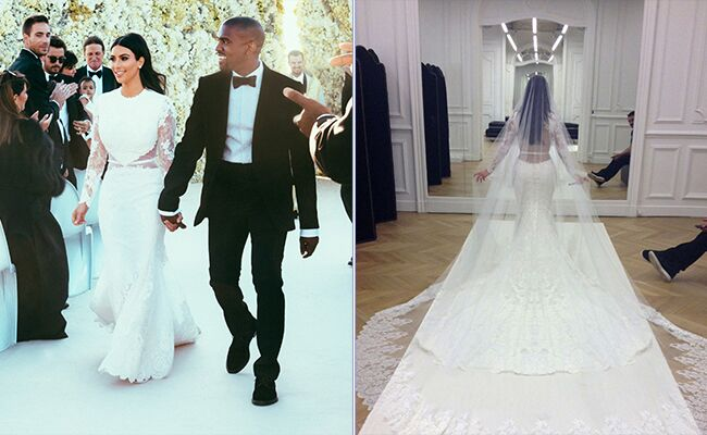 See Kim Kardashians Givenchy Wedding Dress and Get the Look