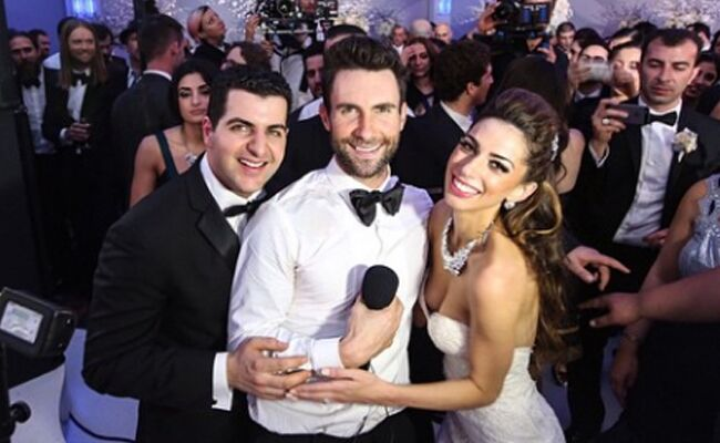 Adam Levine Maroon 5 Crashed A Wedding To Shoot Music Video Details