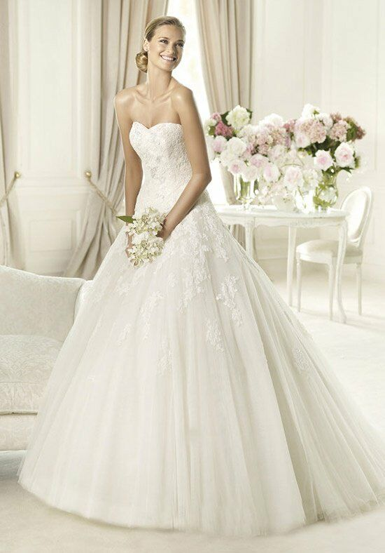 PRONOVIAS ALCANAR Wedding Dress photo