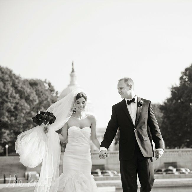 An Old Hollywood Glam Wedding in Washington, DC