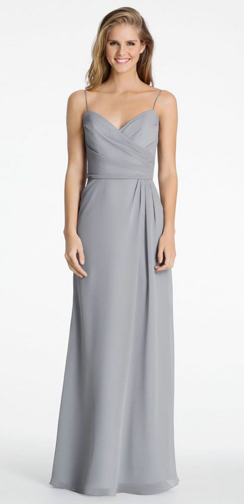 Grey Bridesmaid Dress By Hayley Paige