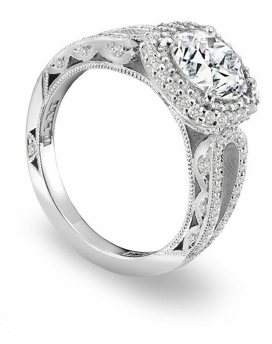Platinum Must Haves Tacori Platinum and Diamond Engagement Ring Engagement Ring photo