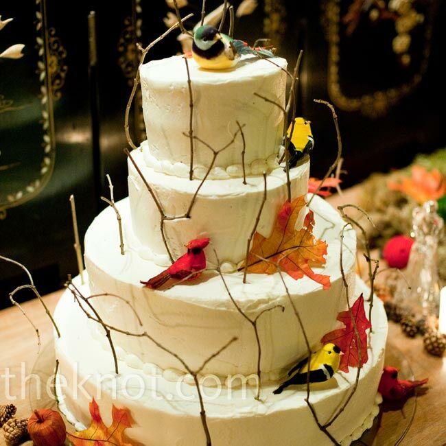 Bird and Twig Cake