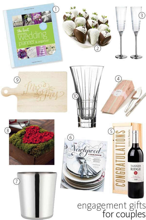 Wedding Gift Ideas For Couples Who Have Everything : 10 engagement gifts for couples