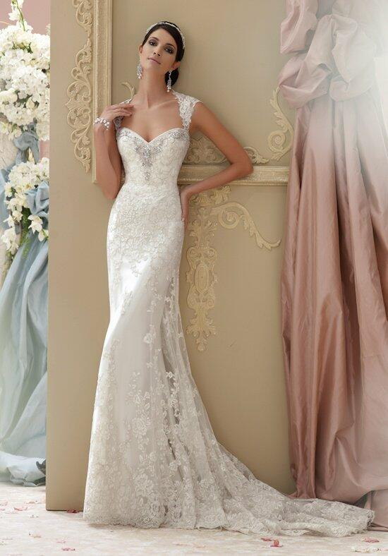 David Tutera for Mon Cheri 115229 Lourdes Wedding Dress photo