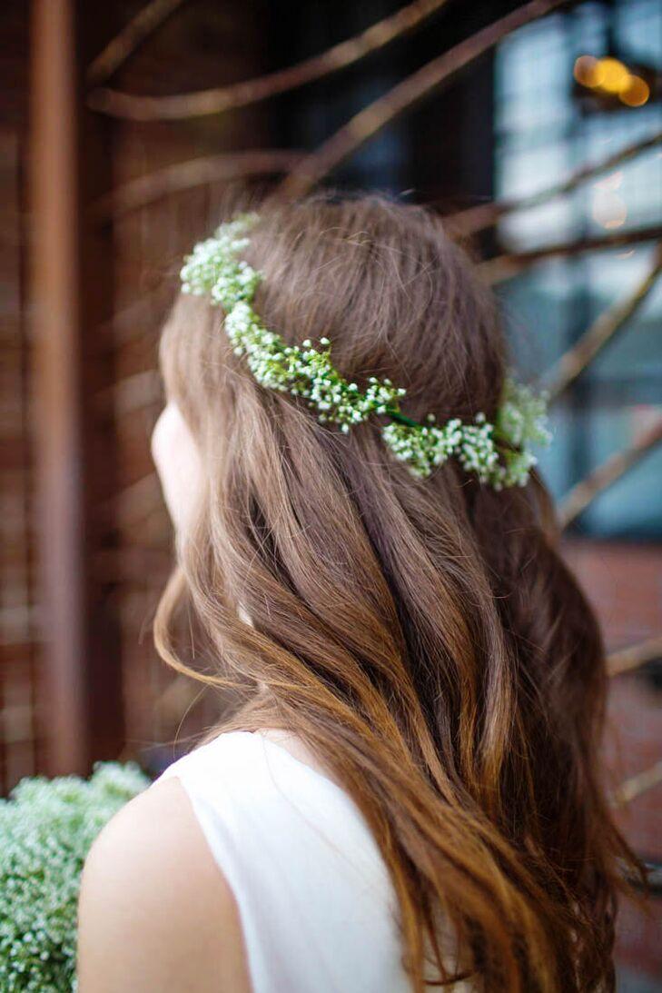 Diy Bohemian Babys Breath Flower Crown