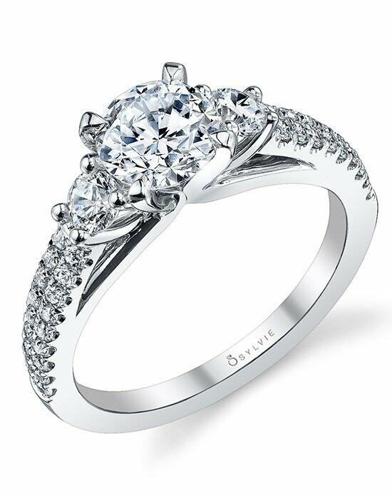 Sylvie Collection S1096 Engagement Ring photo