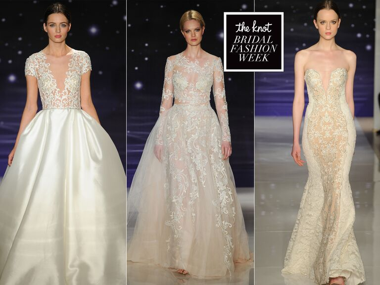 Bridal Fashion Show 2016 Reem Acra Spring wedding