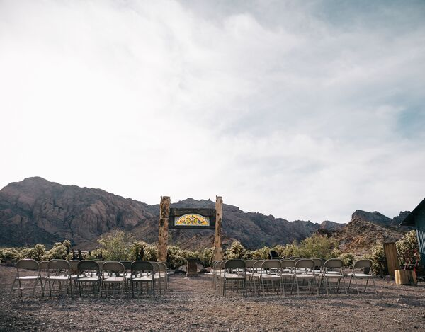 Intimate Desert Ceremony