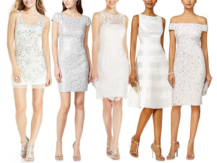 little white dresses from Macy's