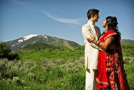 "Krishna and Aryron's wedding was the first Indian wedding to take place in Aspen! ""We wanted to have a traditional Hindu wedding"