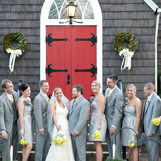 A Yellow and Gray Wedding in Lewisburg