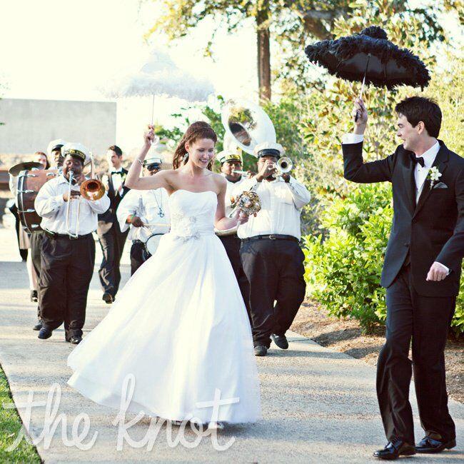 Wedding Line Dances: New Orleans Second Line Tradition