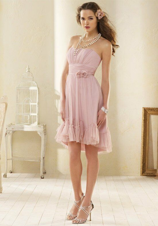 Alfred Angelo Signature Bridesmaids 8603 Bridesmaid Dress photo