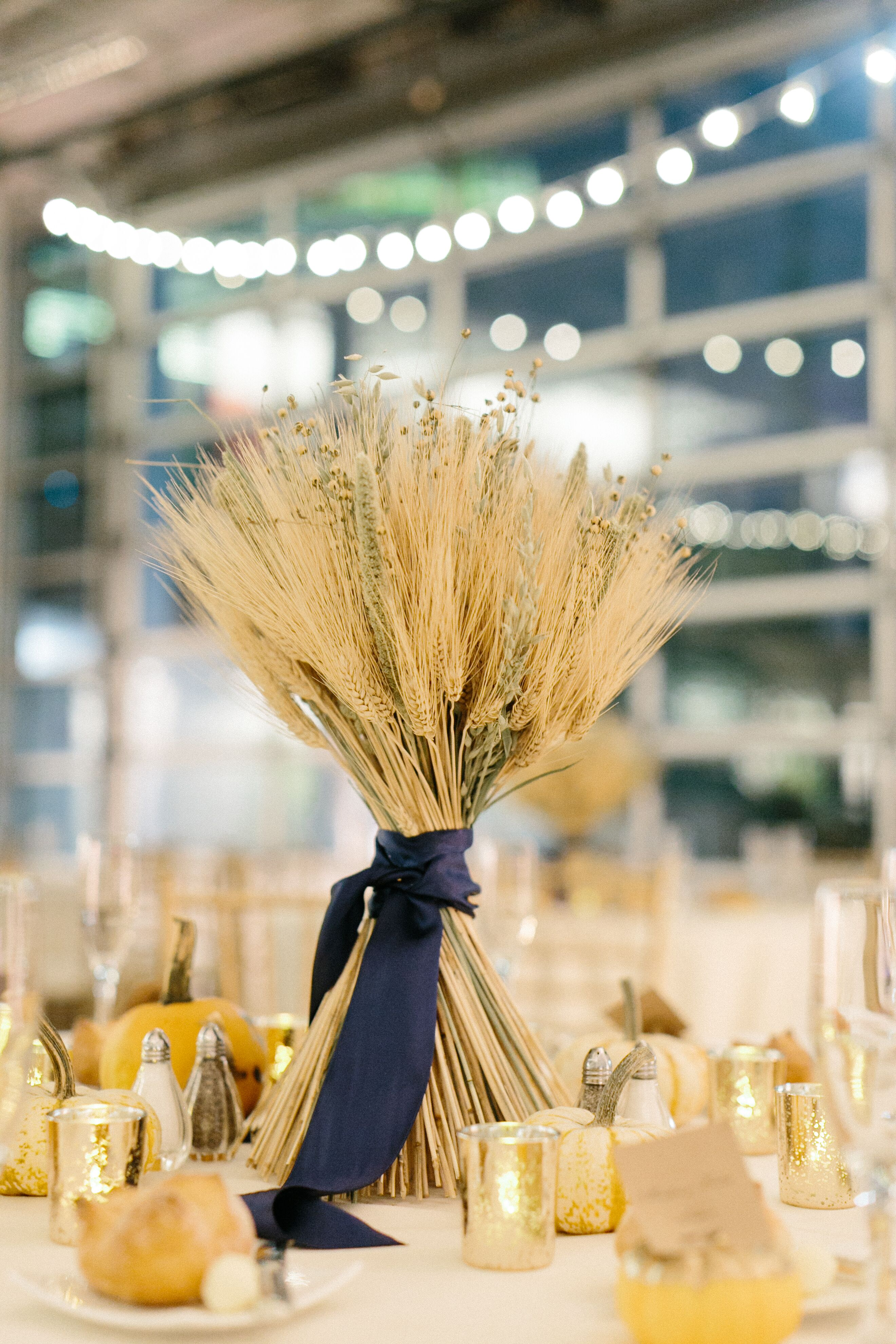 Wheat sheaf centerpiece for Wheat centerpieces