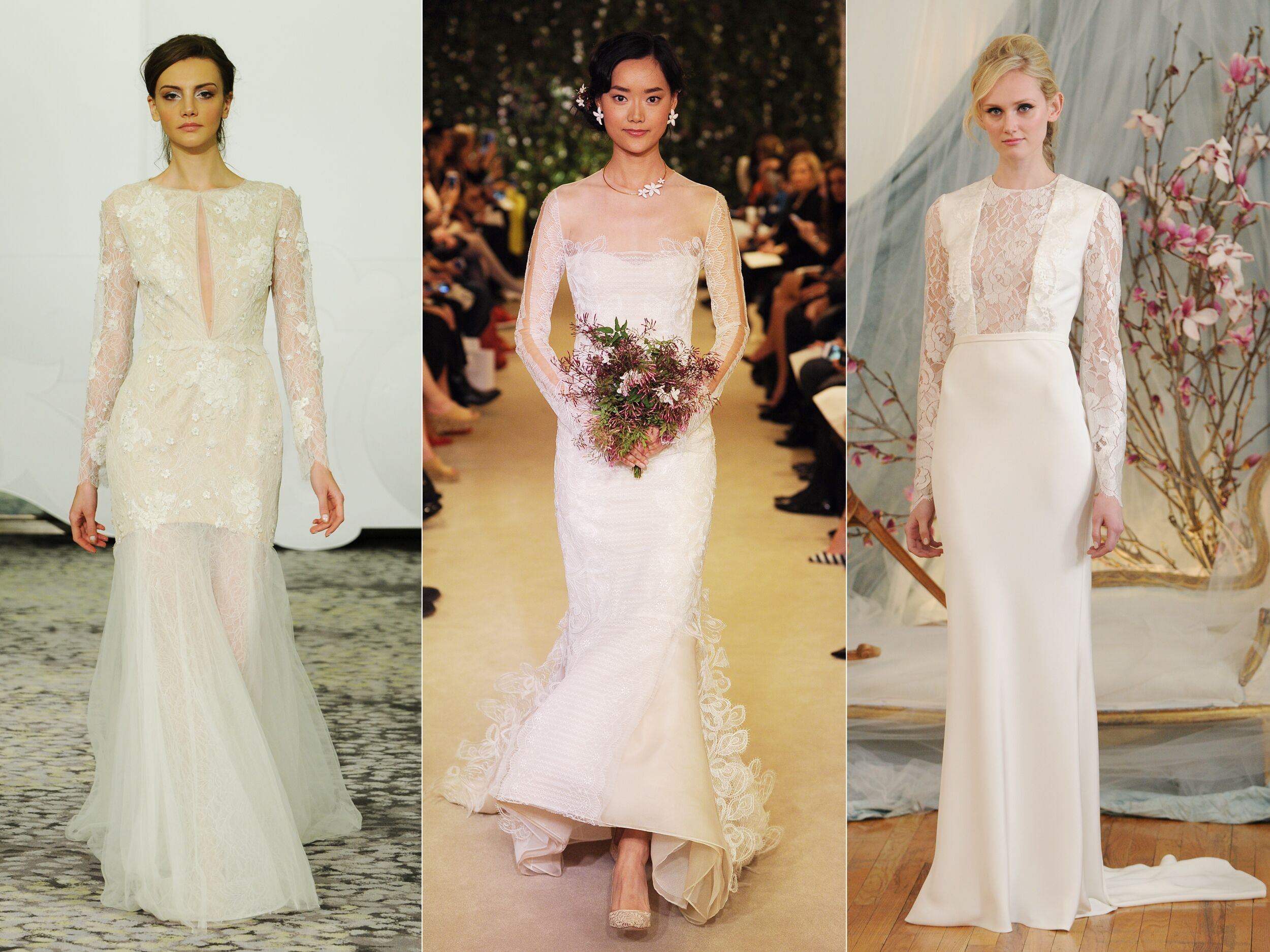 Beautiful Wedding Gowns: 15 Beautiful Long-Sleeved Wedding Dresses