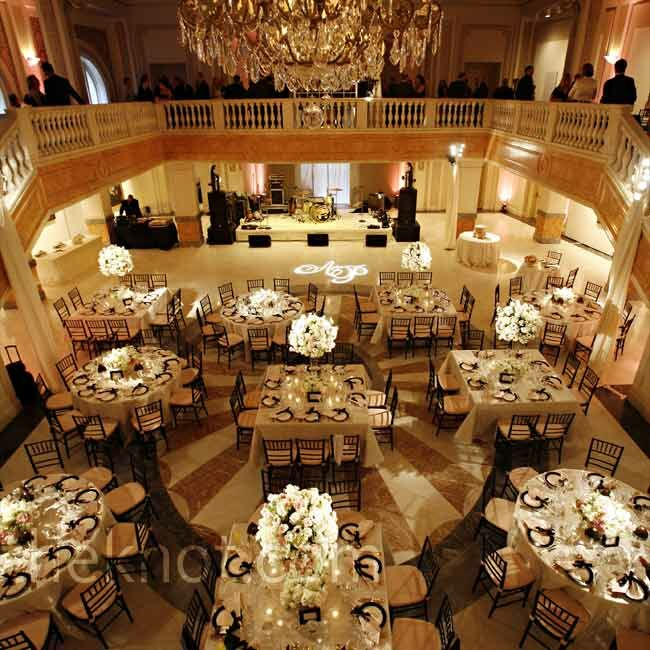 Indoor Wedding Reception Ideas: Romantic Indoor Reception