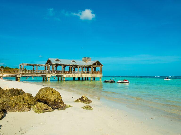 Florida Keys beach honeymoon