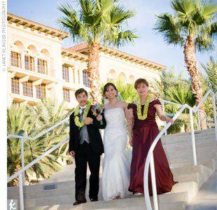 Jenny Luan An Outdoor Wedding In Henderson Nv