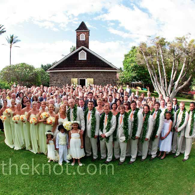A Casual Wedding In Maui, Hawaii