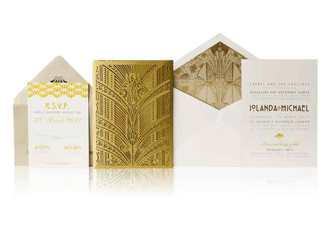 Stationery: Ceci New York / Featured: The Knot blog