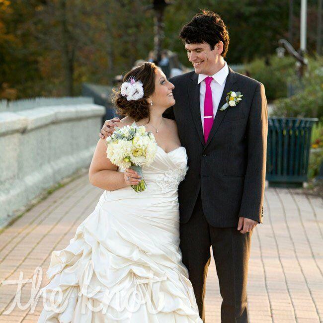 A Rustic Outdoor Wedding in West Orange NJ