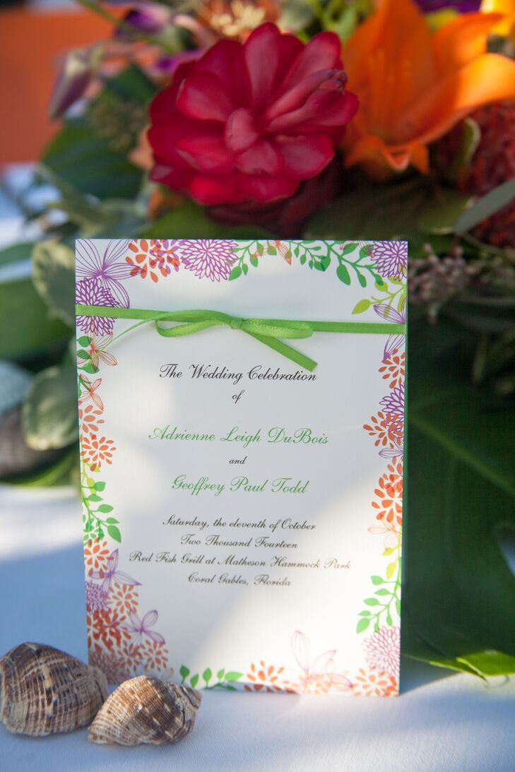 A Tropical Wedding at Red Fish Grill in Coral Gables, Florida