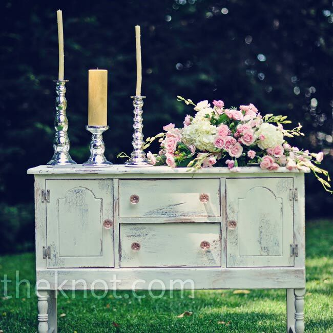 Wedding Altar Images: Outdoor Ceremony Altar