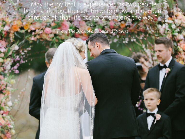 Traditional wedding ceremony sermons