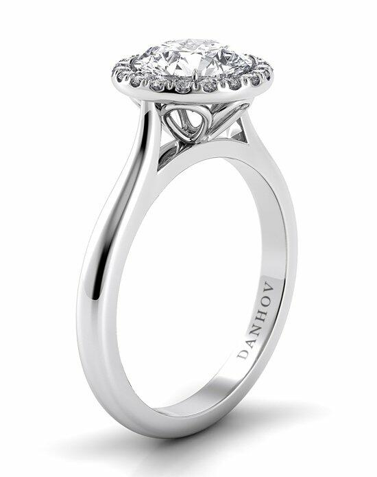 Danhov Classico Halo Engagement Ring photo