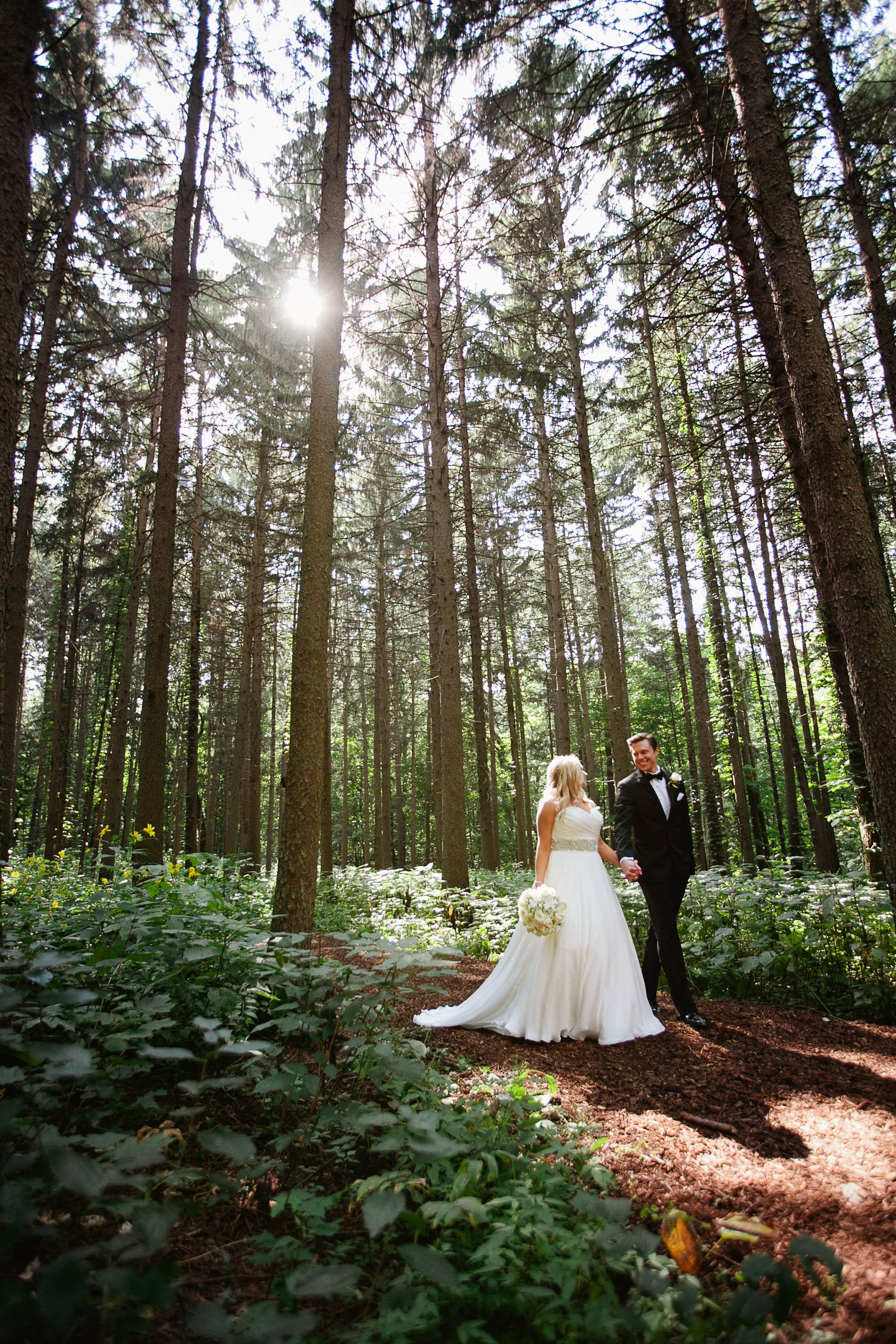 A Morton Arboretum Wedding In Lisle Illinois