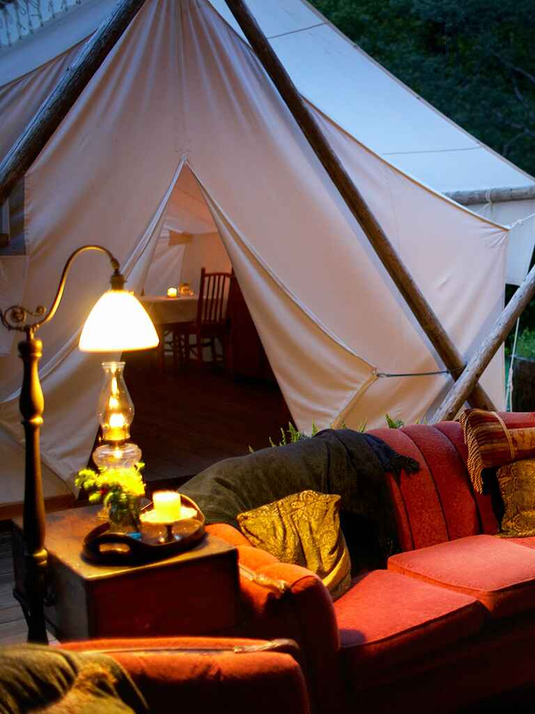 New bachelorette party ideas, Glamping