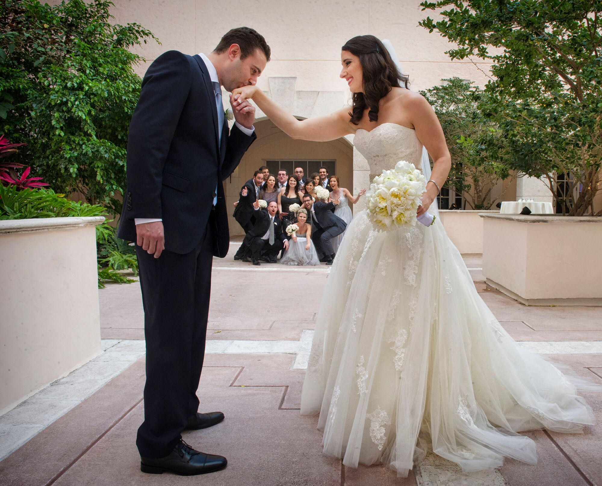 A Traditional Jewish Wedding At Hyatt Regency Coral Gables