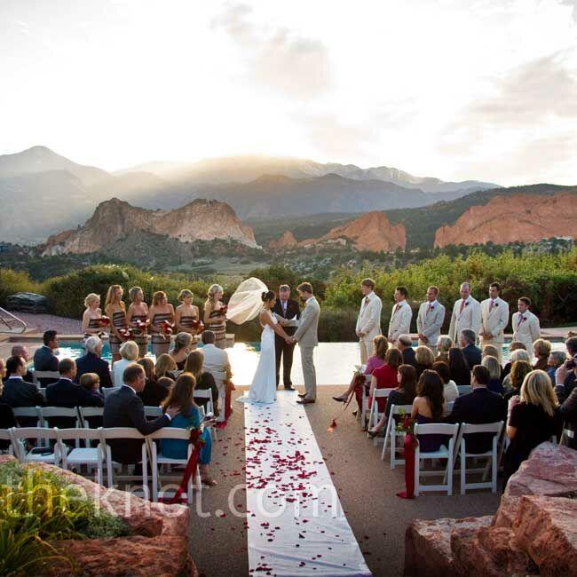 Outdoor Wedding Ceremony Vail: An Outdoor Wedding In Colorado Springs, CO