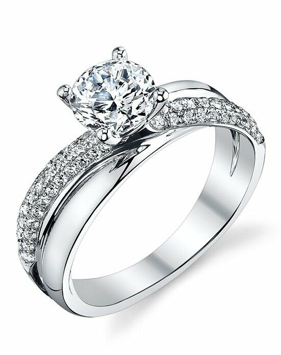Sylvie Collection S1136 Engagement Ring photo