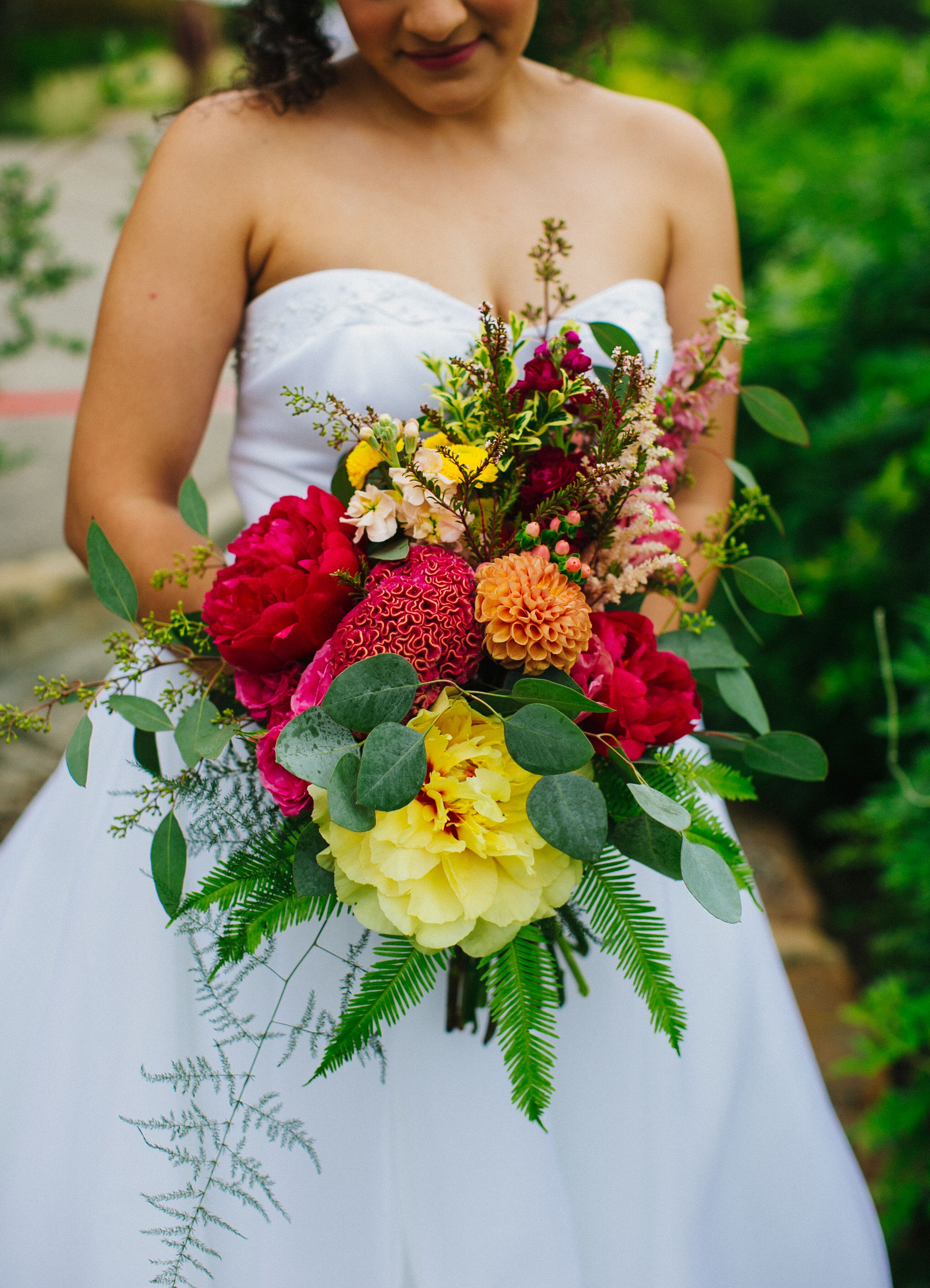 Букет невесты мода 2017