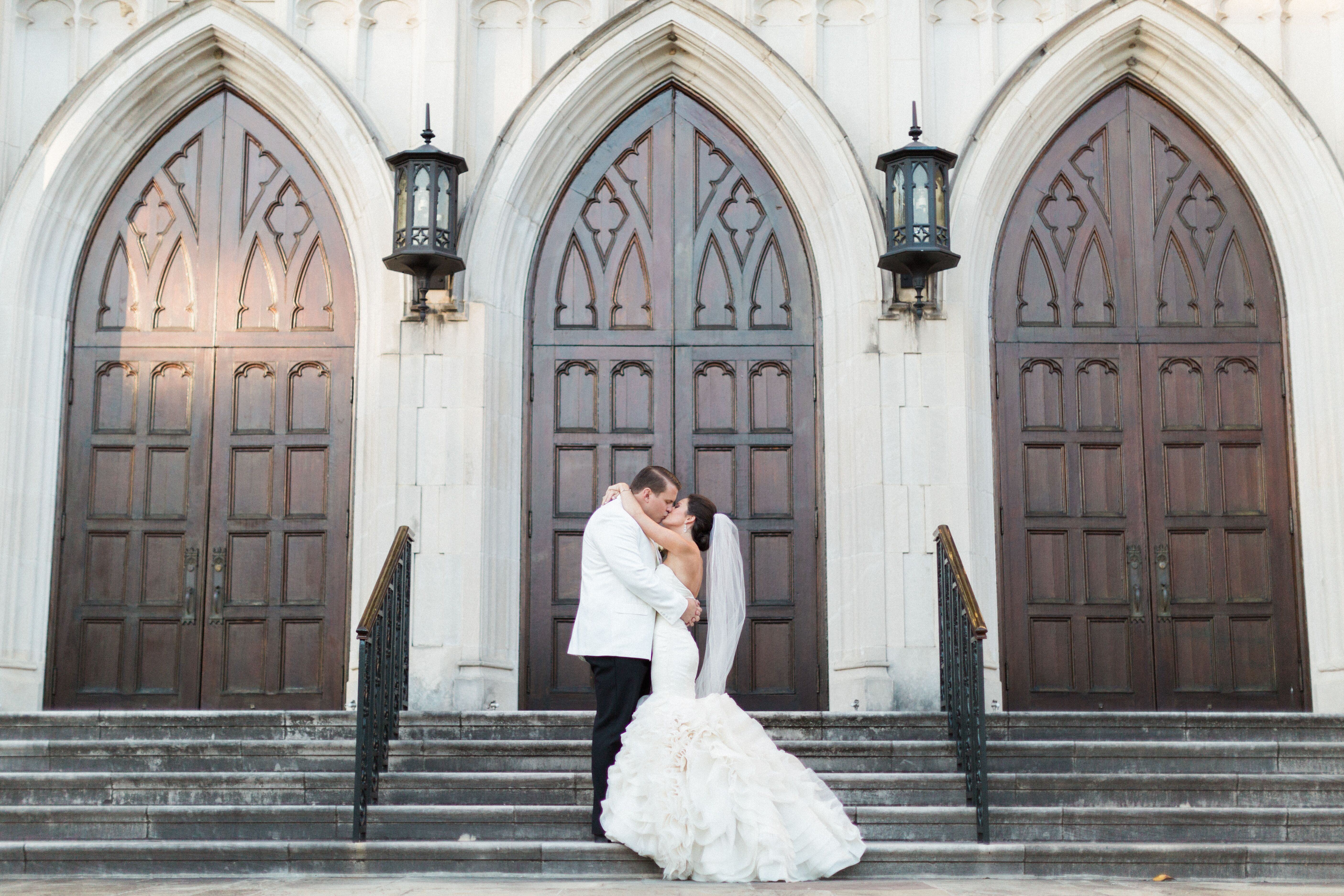 A luxe traditional wedding at terminal station in macon for Wedding dresses macon ga