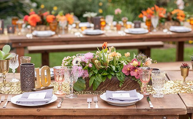A rustic glam wedding at the san diego botanic garden