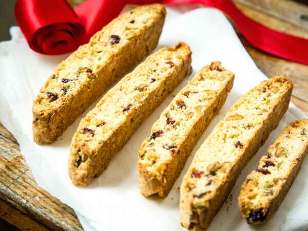 Whip up some delicious Christmas biscotti for the holiday!