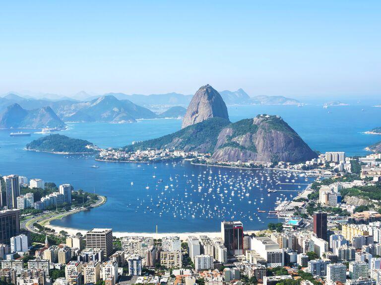Rio de Janeiro Brazil beach honeymoon