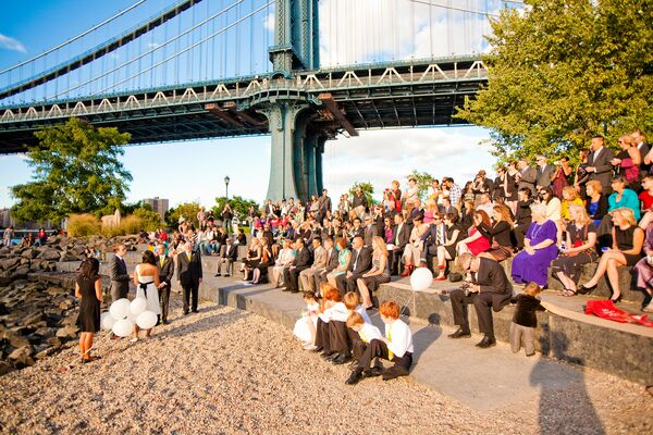 Brooklyn Bridge Wedding Ceremony