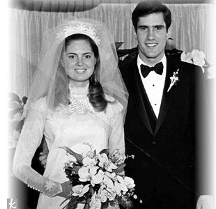 Ann romney wedding dress